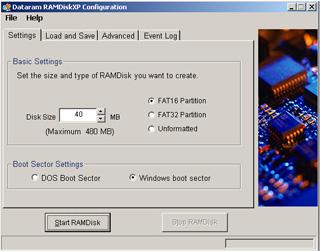Ramdisk Screenshot